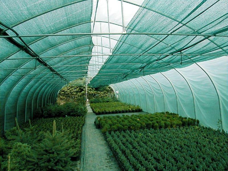 использование затеняющей сетки для теплиц
