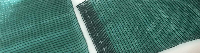 затеняющая сетка 95% пример, зеленая , усиленная